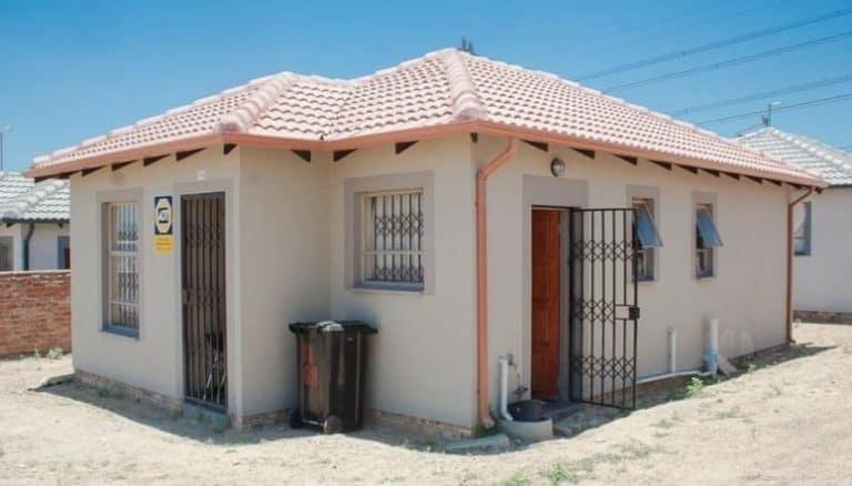 Diepsloot house